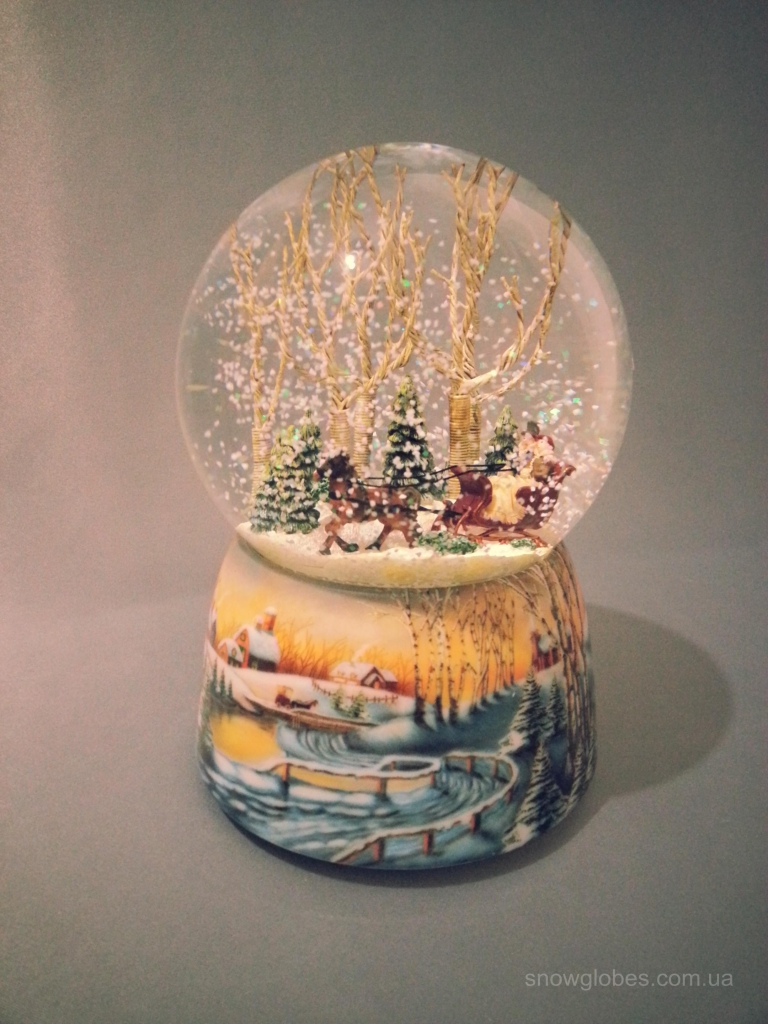 "Снежный шар ""Зимняя страна чудес"""