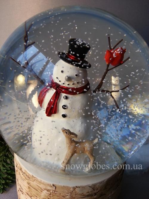 "Снежный шар ""Огромный снеговик"""