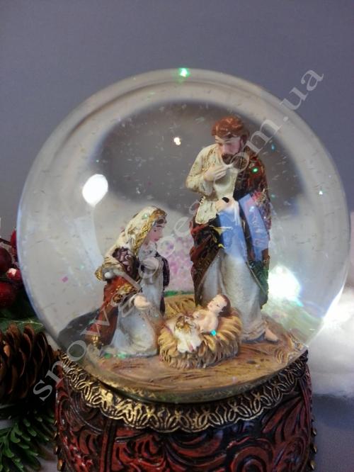 "Снежный шар ""Рождество"" NEW 2018"