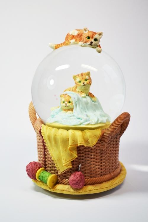 """Музыкальный шар """"Котики"""""""
