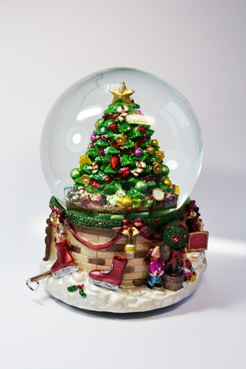 "Снежный шар ""Нарядная елка"""