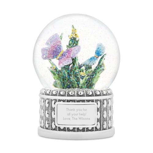 """Снежный шар """"Бабочки"""""""
