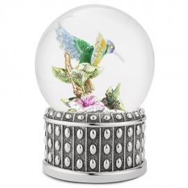 """Снежный шар """"Драгоценная колибри"""""""