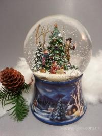 """Снежный шар """"Украшение елки"""""""