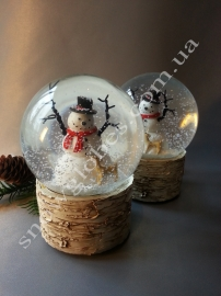 "Снежный шар ""Снеговик"" РАСПРОДАЖА!"