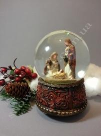 """Снежный шар """"Рождество"""""""