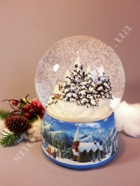 """Снежный шар """"Зимний городок"""""""