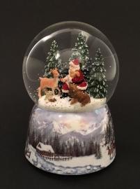 "Снежный шар ""Лесная сказка"""